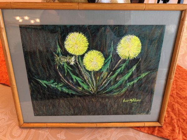 Dandelion at by Sue Mather