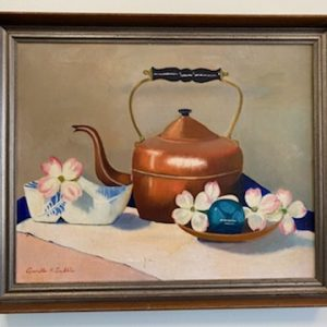 Tea Kettle painting by A. Trible