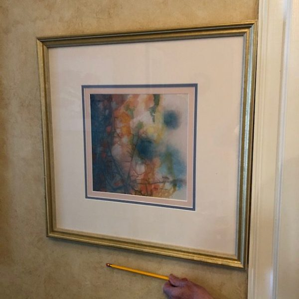 mary mariner abstract pastel painting