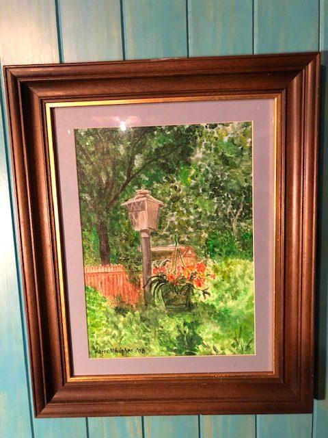 Lamp Post Painting