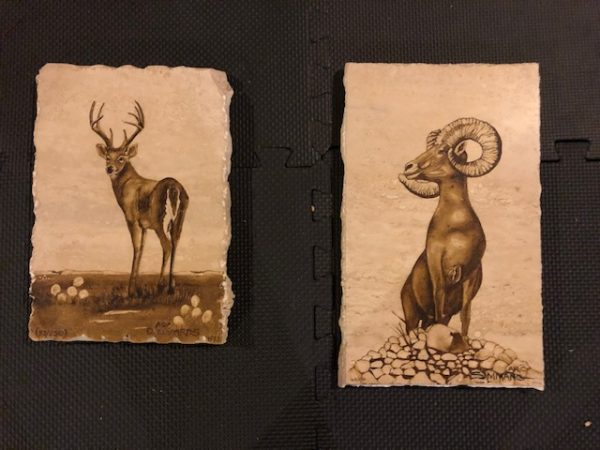 buck and ram marbles