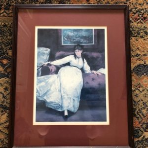 girl, old print
