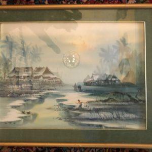 Udomluk, Asian watercolors