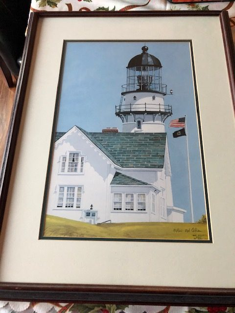 LIght house, R.N. Cohen Limited Edition